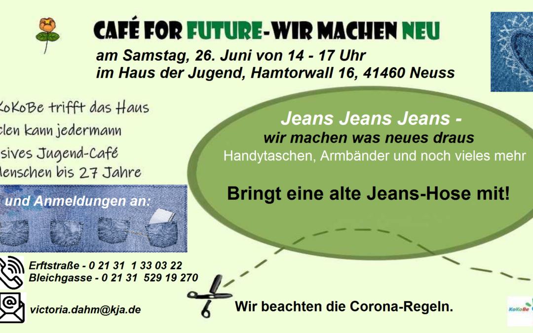 Café for future – Café für die Zukunft